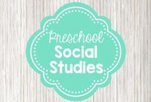 Preschool Social Studies / Activities and projects to help children learn social studies concepts such as civic participation, community involvement, economics, government, heritage, cultures, and geography