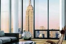 NYC Apartments / Take a peek into super fun New York apartments. This board provides links to tons of NYC Apartment Tours, these apartments vary from average renters to penthouse homeowners.