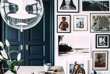 [ Inspiration ] Peacock blue / Decor inspiration with peacock blue paints or furniture.