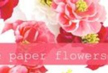 Crafts | Flowers / Crafts and DIY flowers to make at home.
