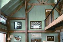 Cabin Appeal / Unique Rustic Interiors