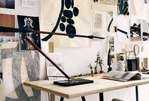workspace / by Laura Boruta