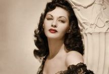 Hollywood Legends and Icons / Actresses and Celebrities of the Golden Age to the Modern Age of Motion Picture and Film
