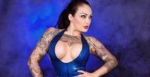 Beautifully Inked - Tattooed Women and Models
