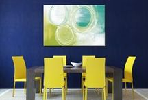 Room Settings / Art as home and office decor accents. Affordable posters and prints on Canvas available through custom framers and decor stores. All art published by Canadian Art Prints and Winn Devon Art Group Inc. www.capandwinndevon.com
