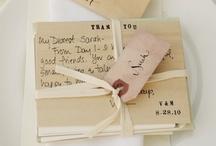 Wedding Card / Customizing your wedding: cerimony, reception, favors.