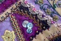 crazy quilts & ideas / by Sha Ann