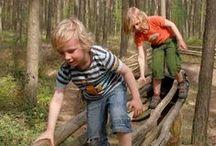 Speelplekjes in Vlaanderen / leuke kleinschalige speelplekjes, bossen, velden, verborgen hoekjes...