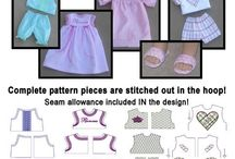 Doll Clothes and Baby Dolls