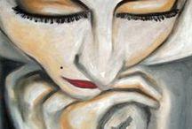 Ocra e Nero / My Paintings