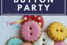 Cute as a Button Party / Emma's first birthday party was a Cute as a Button themed party. It is such a cute theme, it needed its own board.