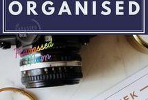 Getting Organised / Let's get organised!!
