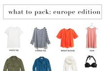 Travel Style / Travel in style and comfort with some travel fashion inspiration