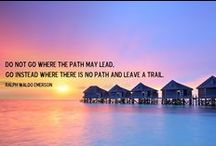 Travel Quotes / Some inspirational words that will make you want to pack that suitcase and explore!