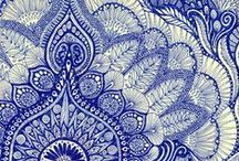 Textil prints.