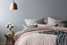 Stylish Bedrooms / Wake Up Awesome. Make sure your bed and your boudior is up to scratch, you spend a lot of time there!