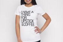 c h i c  l i f e  t-s h i r t s / Fun and inspiring graphic shirts from www.chic-life.com.