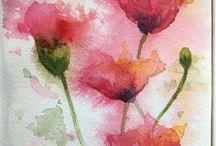 ▫️Art Watercolour IV Flowers