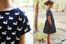 sewing for kids / modern sewing...you know, for kids! / by Kristin // skirt as top