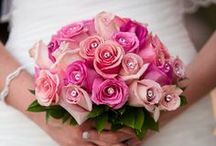 Pink Bridal Bouquets / Exquisite Pink Bridal Bouquets featured at Villa Siena ~ Arizona Weddings & Events. More Wedding Ideas www.facebook.com/villasiena