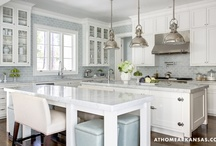 A Thing for White Kitchens / I do. 