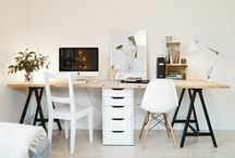 Design Inspiration: Home Office / Design ideas for hubby's office