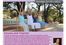 SunLight Chair Yoga Teacher Trainings / Chair Yoga: Yoga is for everyone! www.sunlightchairyoga.com