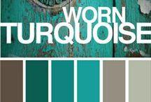 Turquoise - Sea Green