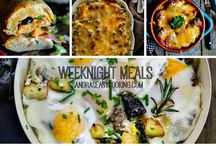 ~ SECOOKING weeknight meals and treats~ / Simple Dinner ideas from my blog