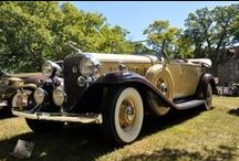 Concours d'Elegance / Salisbury House welcomes a number of vintage cars during a variety of events.