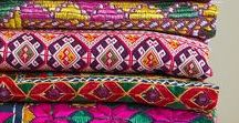 Fabrics / Patterns Love / Beautiful textiles, colorful fabrics and lovely patterns for home