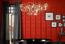 RED / Decorating your home in the color red. / by Kristie W.