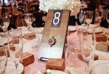 Table Number Ideas / There are so many creative ways to differentiate your tables for guests to find their seats at your reception!