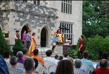 Shakespeare on the Lawn at Salisbury House / Salisbury House is the perfect setting for Shakespeare to be performed.  Each summer the works of Shakespeare are performed atop the gardens of Salisbury House.