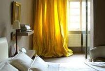 Yellow Senape Ocra Cognaq / Things colored