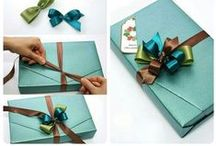 #DIY Packaging Package Gift Wrap - Impacchettare pacchi regali