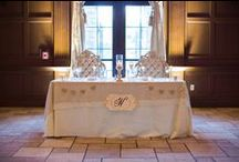 Sweetheart & Head Tables / Whether you chose to have a sweetheart table our invite your whole bridal party to join you on your special day, Villa Siena has incredible ways to display the bride and groom during their reception!