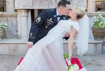 "The Kiss at Villa Siena / ""I now pronounce you husband and wife. You may kiss the bride!"""