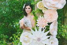 Wedding Paper Flowers / Odyssey Event Productions, producers of Wedding Odyssey and Bridal and Event expos, Ciociaro Club, Windsor Ontario, www.windsorweddingshow.com