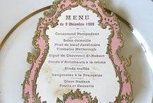 Menu Card Ideas / Odyssey Event Productions, producers of Wedding Odyssey and Bridal and Event expos, Ciociaro Club, Windsor Ontario, www.windsorweddingshow.com