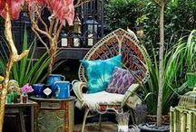 Boho Home / Maison Bohème / De l'inspiration pour une décoration d'intérieure bohème