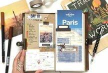 Travel Journal / De jolis carnets de voyages inspirants qui racontent de belles aventures !