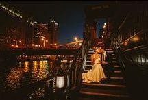 NIGHT TIME WEDDING PHOTOS {CHICAGO}