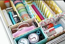 Clutter Control / Paper is the #1 clutter complaint in the busy home!  Rein it in! More ideas at handmadehomeoffice.com!