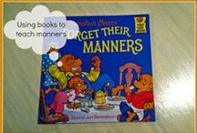 Manners / Manners for toddlers. Fun games and play to teach #manners. / by Lara @ Everyday Graces