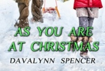 Christmas Romance - As You Are at Christmas / Devastated by her cheating boyfriend, an elementary school teacher heads home for Christmas only to be surprised by the handsome stranger waiting there.