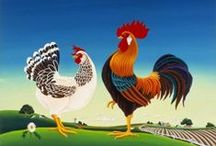"!**Chicken Gifts Group **! / ""Chicken-themed gift ideas - chicken presents for people who love chickens and roosters, hens and chicks."" (FOLLOW my boards and email mulewagon@gmail.com with your username, and I'll send you an invitation.)  / by Mule Wagon"