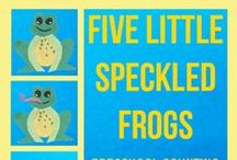 Frog Unit study ideas / Frog unit study ideas for preschool and early elementary / by Lara @ Everyday Graces