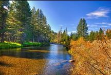 Fly fishing in California / Places to go fly fishing in California.
