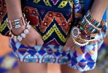 Accessorize / Layer your look with accessories. The bolder, the better!